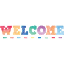[8190 TCR] Watercolor Welcome Bulletin Board