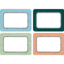 [8818 TCR] Painted Wood Name Tags/Labels - Multi-Pack