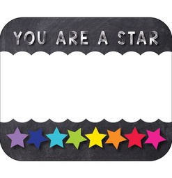 [150065 CD] Twinkle Twinkle You Are A STAR Name Tags