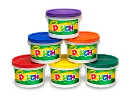 [5700156SET BIN] 6 Color Set Crayola Dough 3lb Buckets