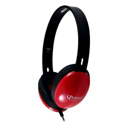 [PRM100R HE] HamiltonBuhl Primo™ Stereo Headphones Red