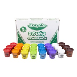 [570171 BIN] Crayola Dough Classpack of 24 3oz Dough in 8 Colors