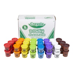 [570174 BIN] Crayola Dough Classpack of 48 3oz Dough in 8 Colors