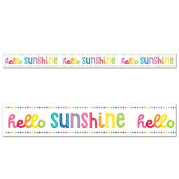 [108362 CD] Hello Sunshine Straight Borders