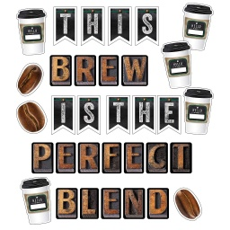 [110480 CD] This Brew Is the Perfect Blend Bulletin Board Set