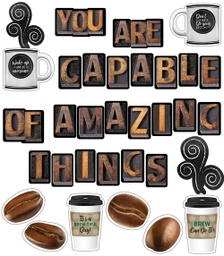 [110481 CD] You Are Capable of Amazing Things Bulletin Board Set Decorative