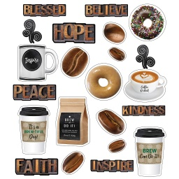 [110484 CD] Industrial Cafe Morning Motivators Mini Bulletin Board Set