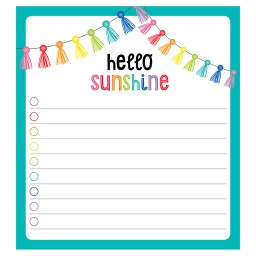 [151100 CD] Hello Sunshine Notepad