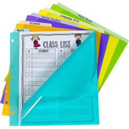 [07150 CL] 5 Tab Index Dividers with Vertical Tab
