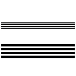 [10066 CTP] Core Decor Black Stripes Border