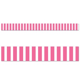 [10071 CTP] Core Decor Pink Bold Stripes Border