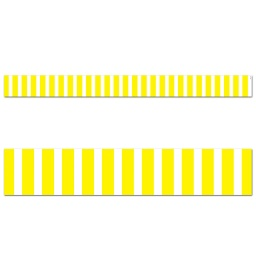 [10073 CTP] Core Decor Yellow Bold Stripes Border
