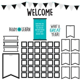 [10167 CTP] Core Decor Ready to Learn Bulletin Board Set