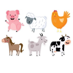 [10227 CTP] Farm Friends Designer Cut Outs