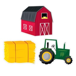 [10228 CTP] Farm Friends Farm Fun Designer Cut Outs