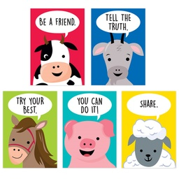 [10266 CTP] Farm Friends Inspire U 5- Poster Pack