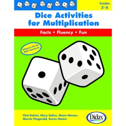[210907 DD] Dice Activities for Multiplication
