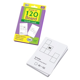 [211732 DD] Parts of 120 Board Activity Cards