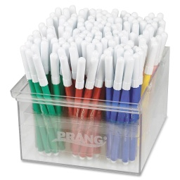 [80744 DIX] 144ct Prang Classic Art Markers Fine Tip in Storage Container
