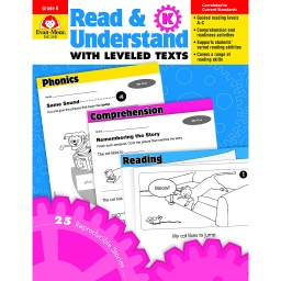 [3440 EMC] Read & Understand with Leveled Texts Grade K