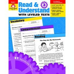 [3443 EMC] Read & Understand with Leveled Texts Grade 3