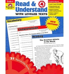 [3444 EMC] Read & Understand with Leveled Texts Grade 4