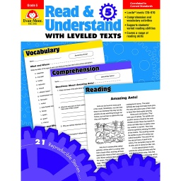 [3445 EMC] Read & Understand with Leveled Texts Grade 5