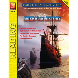 [390 REM] Daily Literacy Activities: Early American History
