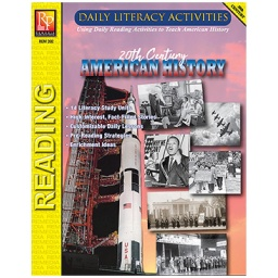 [392 REM] Daily Literacy Activities: 20th Century American History