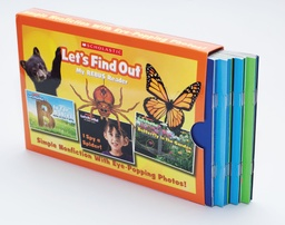 [588221 SC] Let's Find Out Rebus Readers Box 1 Parent Pack