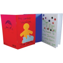 "[77224 HG] 24ct My Storybook Blank Book 5.5"" x 8.5"""