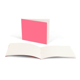 "[77442 HG] 20ct Bright Colors Horizontal Style Blank Books 4.25"" x 5.5"""