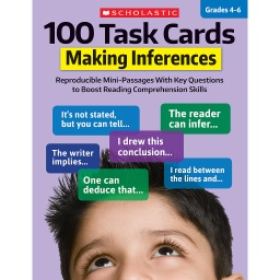 [860316 SC] 100 Task Cards: Making Inferences