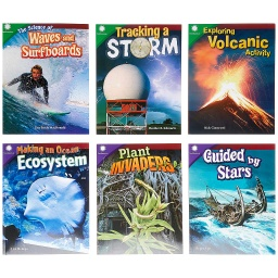[106140 SHE] Smithsonian Informational Text: The Natural World Grades 4-5: 6-Book Set