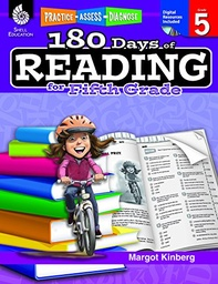 [50926 SHE] 180 Days of Reading for Fifth Grade