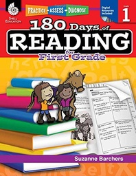 [50922 SHE] 180 Days of Reading for First Grade