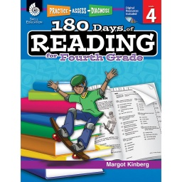 [50925 SHE] 180 Days of Reading for Fourth Grade