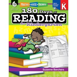 [50921 SHE] 180 Days of Reading for Kindergarten