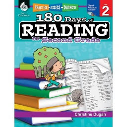 [50923 SHE] 180 Days of Reading for Second Grade