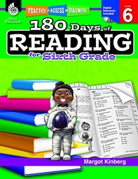 [50927 SHE] 180 Days of Reading for Sixth Grade