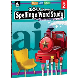 [28630 SHE] 180 Days of Spelling & Word Study Grade 2