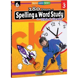 [28631 SHE] 180 Days of Spelling & Word Study Grade 3
