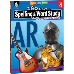 [28632 SHE] 180 Days of Spelling & Word Study Grade 4
