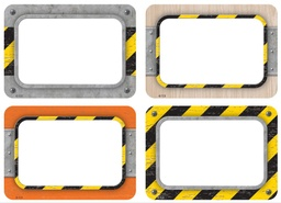 [8720 TCR] Under Construction Name Tags Labels