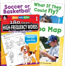 [109746 SHE] Learn at Home High Frequency Words Bundle 4 Book Set Grade 1