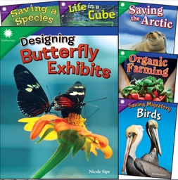 [106136 SHE] Smithsonian Informational Text Animals & Ecosystems 6 Book Set