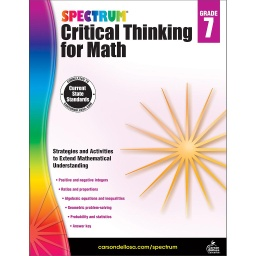 [705119 CD] Spectrum Critical Thinking For Math Gr 7