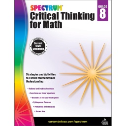 [705120 CD] Spectrum Critical Thinking For Math Gr 8