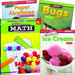 [118386 SHE] Learn at Home Explore Math Bundle Grade K