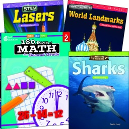 [118388 SHE] Learn at Home Explore Math Bundle Grade 2